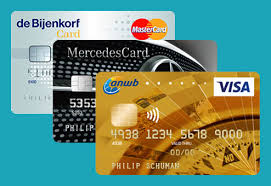 Contactloos creditcard betalingen
